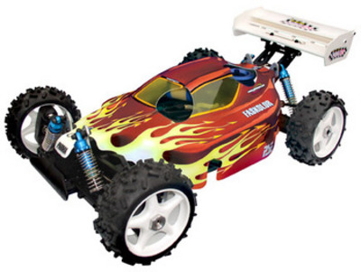 1/8th Scale X-Citer Buggy Body (fits 7.7/777/MBX-5/ TTR S3, etc) PAR1222