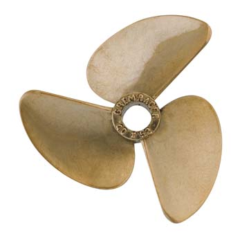 Aquacraft GrimRacer 40x52 Three Blade Metal Boat Propeller