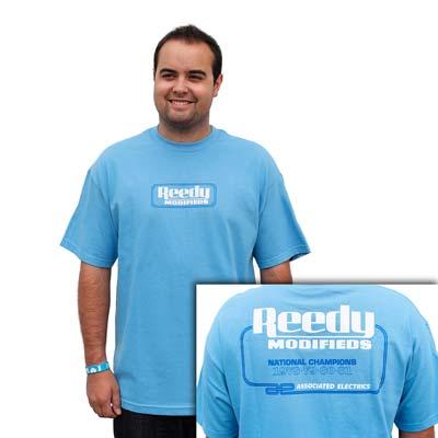 Team Associated Reedy Vintage T-Shirt Baby Blue 3XL  ASCSP22XXXL