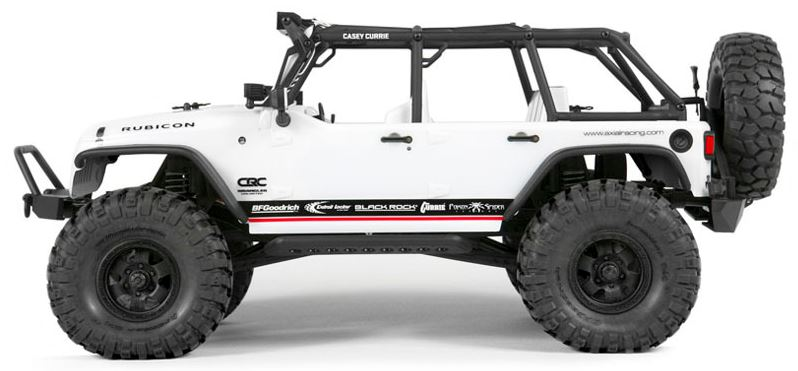Axial Racing 1/10 2012 Jeep Wrangler Rubicon Unlimited Body/SCX10  AXIAX04033