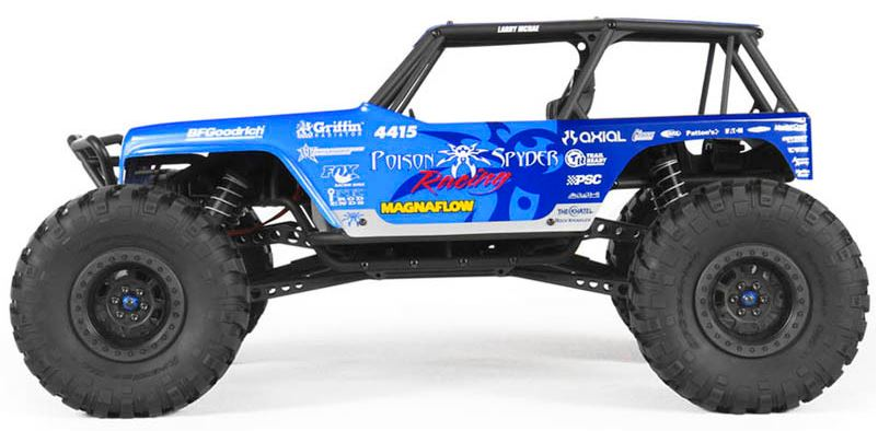 Axial Racing 1/10 Jeep Wrangler Rock Racer Clear Body/Wraith  AXIAX04038