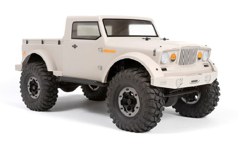 """Axial Racing 1/10 Scale Jeep NuKizer 715 .04"""" Clear Body/SCX10/AX10  AXIAX31267"""