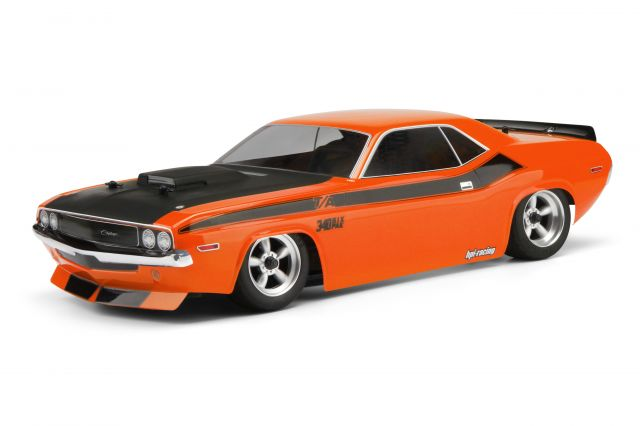 HPI Racing 1970 Dodge Challenger CLEAR 200mm Body
