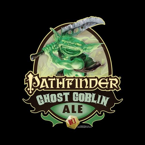 Pathfinder Ghost Goblin Ale T-shirt (XL) by Off World Designs  OWD29016-XL