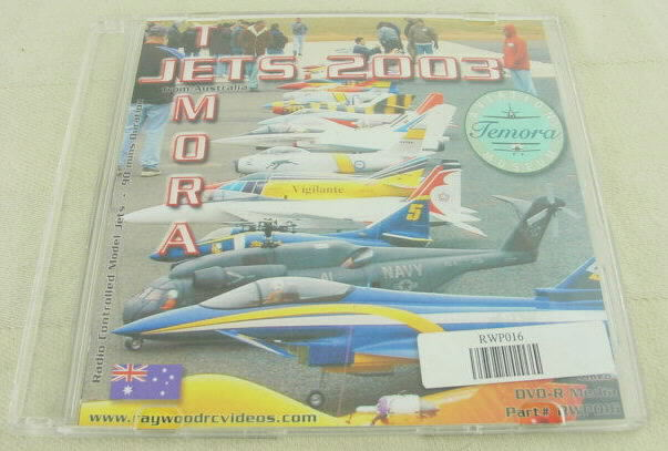 Ray Wood Productions 2003 Temora Rc Jet Rally DVD RWP016