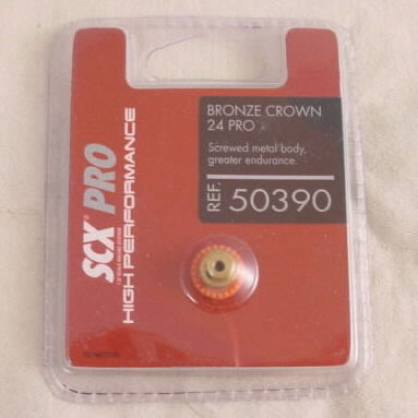 SCX Slot Car Pro 24T Bronze Crown Gear SCXB05039X400 SCX50390