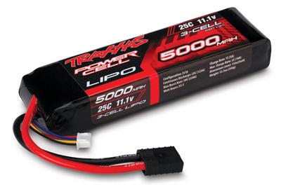 Traxxas 11.1V 3-Cell 5000mAh 25C Lithium Polymer LIPO Li-Po Battery TRA2872