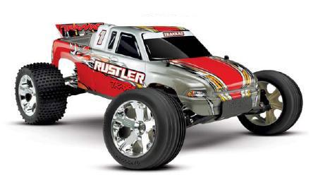 Traxxas XL-5 Rustler RTR Electric Stadium Truck 35+mph!