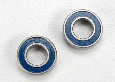 Traxxas Revo 6x12x4mm Blue Rubber Sealed Ball Bearings