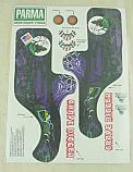 Parma 1/10 Grave Digger #12 Decal Set