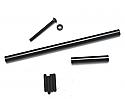 ST Racing 1/10 Scale Alum Precision Steering Upgrade Kit BLK/SCX10 STRSTA30516BK