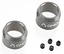 Axial AX-10 Scorpion Grey Driveshaft Ring w/Set Screws (2 Pcs.)
