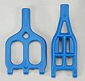 RPM 1/10th Scale Wide Style A-Arms, Blue/Traxxas T-Maxx 2.5/E-Maxx  RPM80075