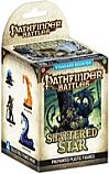 Pathfinder Battles Shattered Star 4-Figure PrePainted Plastic Miniatures Booster Set WZK70990 D&D