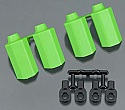 Traxxas 1/10 Scale Green Shock Shaft Guards by RPM