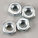 DU-BRO 2.5mm Hex Nuts (4)  DUB2104