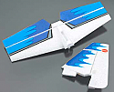 Cox Models Extra 300 EP Stabilizer and Fin/Rudder Tail Set