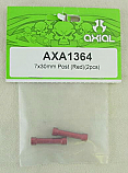 Axial AX-10/AX10 Scorpion Red 7x30mm Post