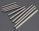 Traxxas Electric Stampede/Rustler/Monster Jam/VXL Titanium Hinge Pins LNS3725