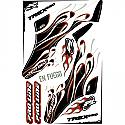 Pro-Line Racing En Fuego White Assault Canoy Wrap/TRex 450  PRO950604