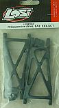 Team Losi Rear Suspension Arms, EA3/XXX-SCT  LOSB2052