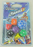 Formula D Racing Game Replacement Dice Set ASMFDD01