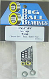"1/4x3/8x1/8"" Type 2 Teflon Sealed Bearings (2 Pieces)"