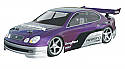 HPI Racing Lexus GS 400 200mm 1/10 Clear Body HPI7455