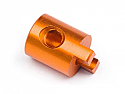 HPI Racing Rear Hub, Orange/Micro RS4  HPI110148