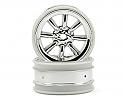 HPI Racing MX60 8-Spoke Wheel 3mm Offset Chrome (2)  HPI3937