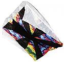 """Skydog Kites 36"""" Tie-Dye Para-7.5 36x28"""" Parafoil Kite SKK13282"""
