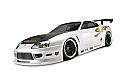 HPI Racing Toyota Supra Aero 200mm CLEAR Body