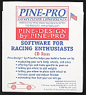 Pine-Pro Pine-Design Performance Software CD-ROM  PPR10099