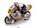 1/8th Scale Kyosho Honda NSR500 R/C Electric Motorcycle