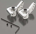 HPI Racing Blitz Silver Billet Machined Rear Hub Carrier