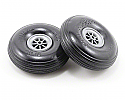 "DU-BRO Treaded Lite Wheels 3"" (2)  DUB300TL"
