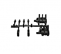 Axial Racing 1/10 Scale Axle Case Cap Set/XR10  AXIAX80063