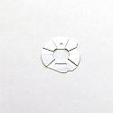 Traxxas Slash 2WD/Rustler/Stampede Silver Alloy Heatsink Motor Plate