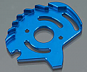 Traxxas SLASH 4x4 Blue Alloy Motor Plate