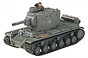 1/24 German Pz.754(r) Captured Russian KV-2 Gray Battle Tank