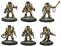 Incursion: Allied Starter Set Unpainted Miniatures by Grindhouse Games  GRDINC02