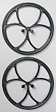 "DU-BRO 2.5"" Micro Lite Wheels (2)  DUB250ML"