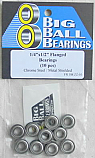 "1/4x1/2x3/16"" Flanged Metal Shielded Bearings"