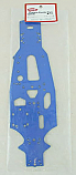 Kyosho FW-05S Blue Aluminum Main Chassis