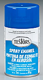 Testors 3oz Dark Blue Enamel Spray (Aerosol) Paint  TES1211T