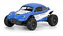 Traxxas SLASH 2WD/4WD Volkswagen Full Fender Baja Bug Clear Body