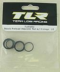 Team Losi Racing 22 1/10 Scale Buggy Shock Preload Adjuster Nut w/O-ring
