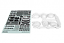 Axial Racing 1/10 Scale Skull Helmet Set, White  AXIAX80131
