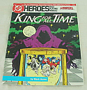 DC Heroes Role Playing Game: King for All Time Adventure Module by Mayfair Games