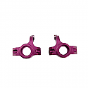 GH Racing Aluminum Front Spindle Carriers (Purple)/HPI Hellfire  GHH02346